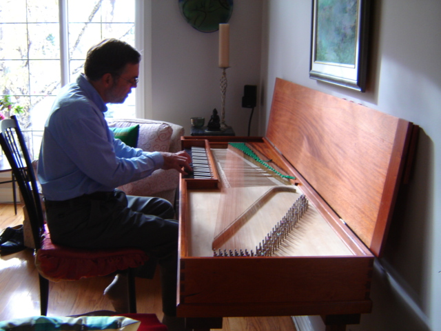 Building a Friederici clavichord